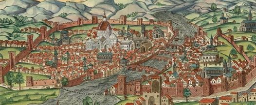 Veduta di Firenze nel XV secolo