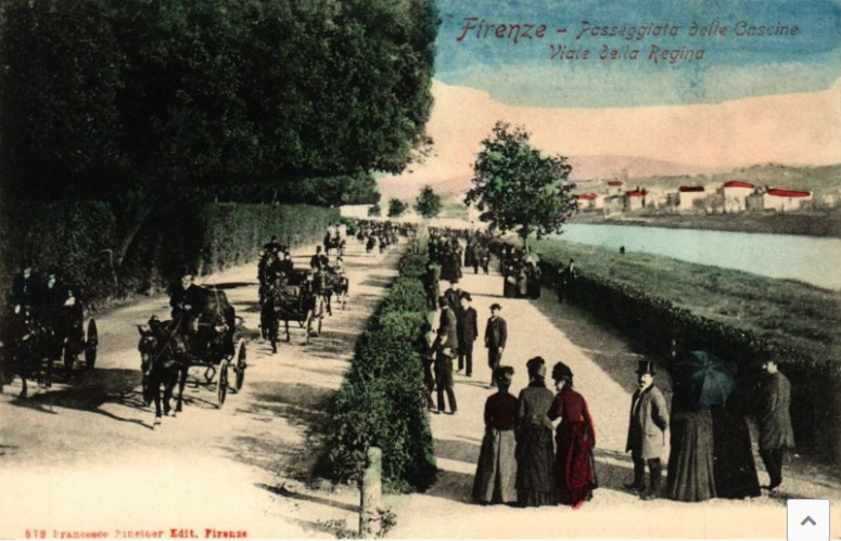 Visita Agli Orti Delle Cascine Nel 1874