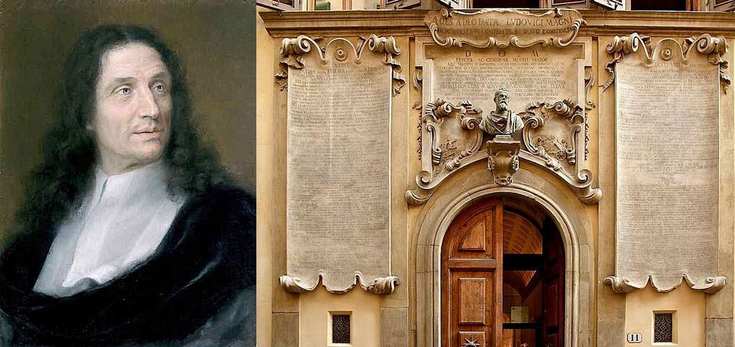 Vincenzo Viviani dedicates a palace to his Master Galileo Galilei