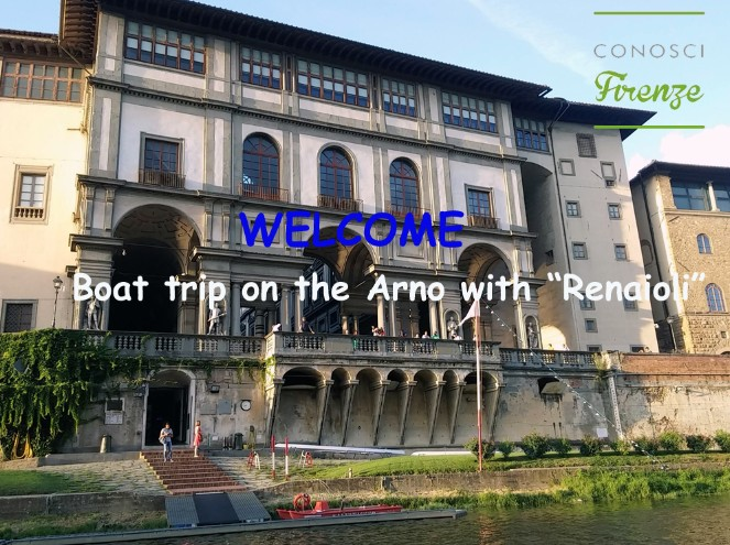 "Boat trip on the Arno with ""Renaioli"""
