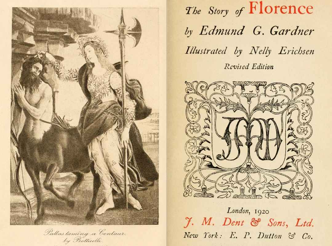 The Story of Florence by Edmund G. Gardner Illustrated by Nelly Erichsen