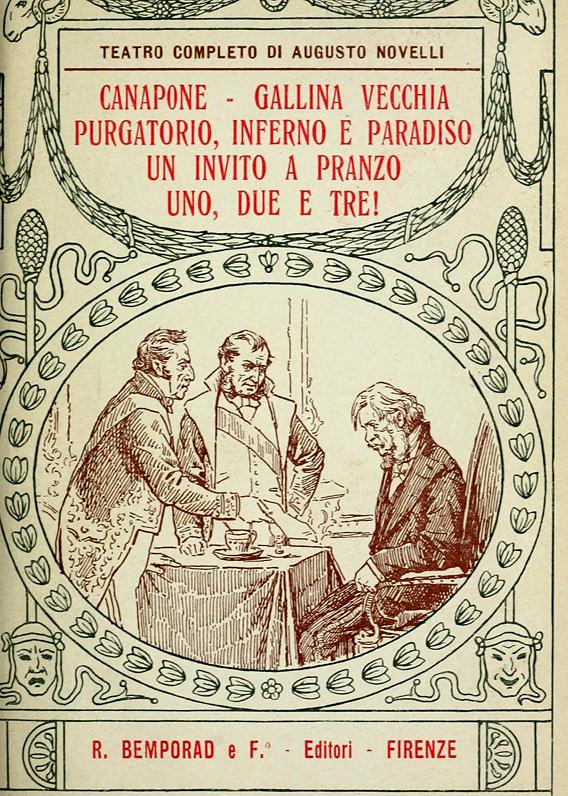 Augusto Novelli: Teatro completo in sei volumi
