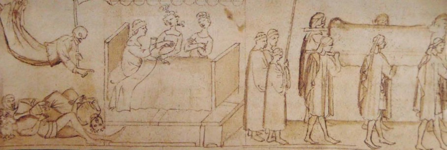 La peste del 1348 a Firenze