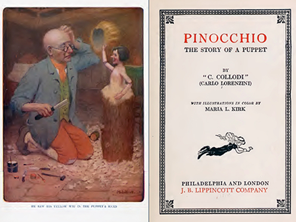 English Book: Pinocchio, the story of a Puppet