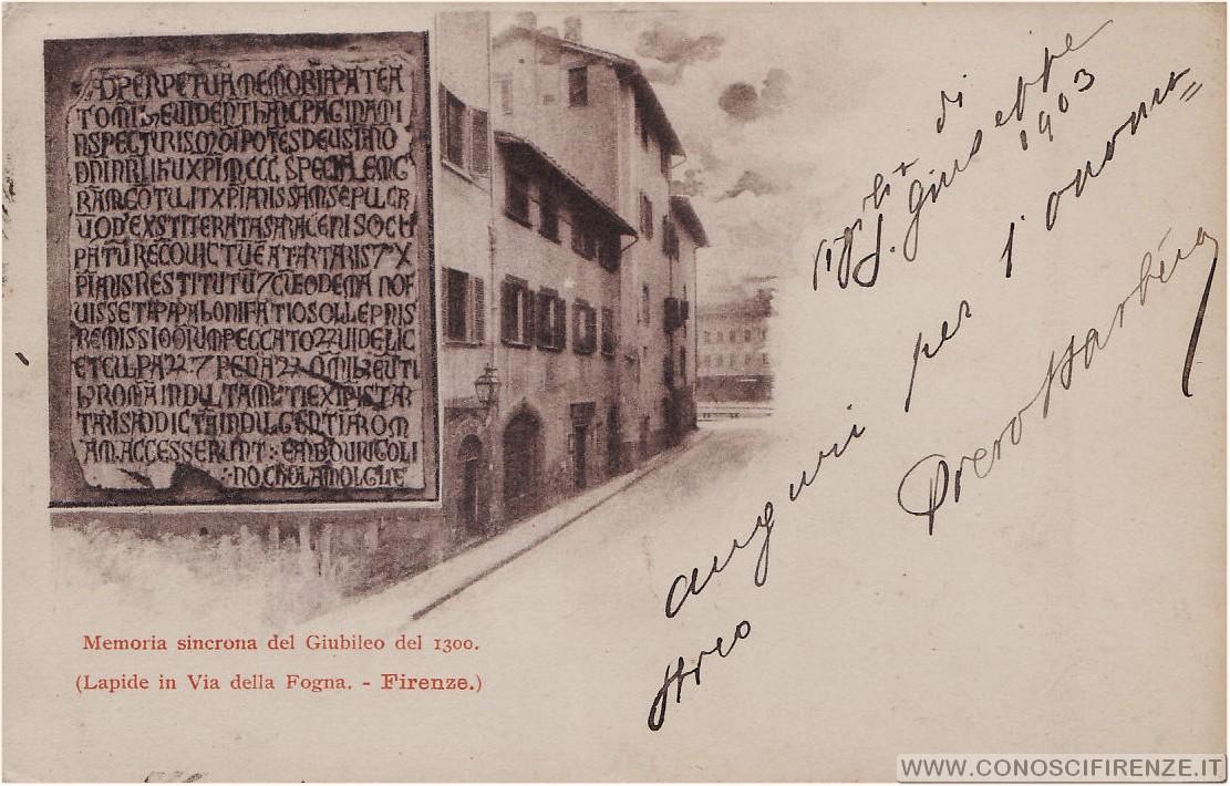 Via Giovanni da Verrazzano ex via della Fogna