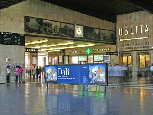 Arrivo stazione Firenze