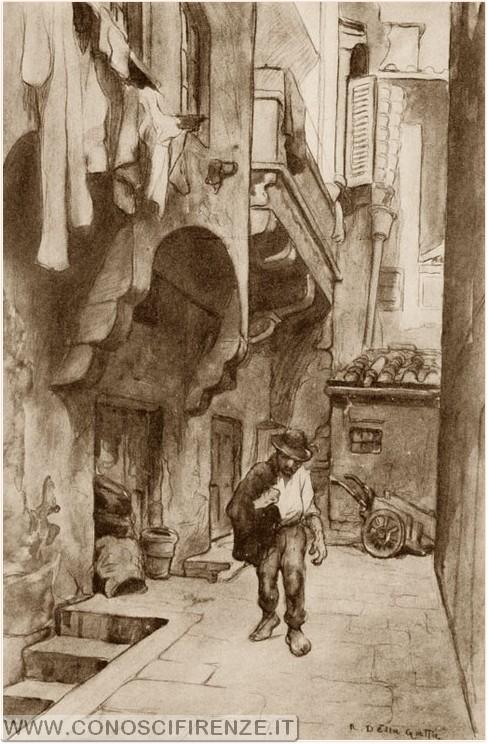 Toponomastica: vicolo degli Alberighi
