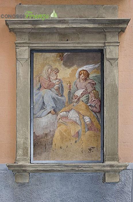 Tabernacolo dedicato a San Agostino