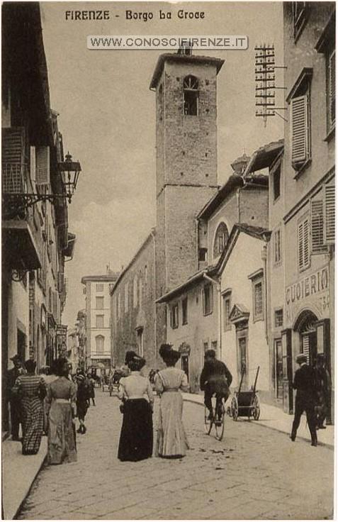 Toponomastica: Borgo la Croce