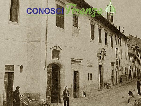 Via di Camaldoli primi del '900