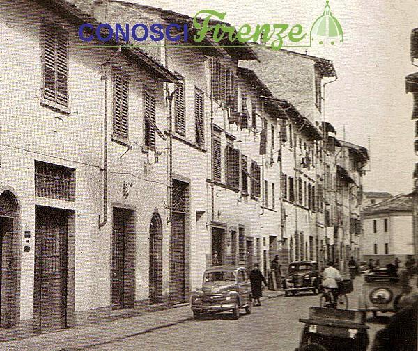 Via di Camaldoli anni 30