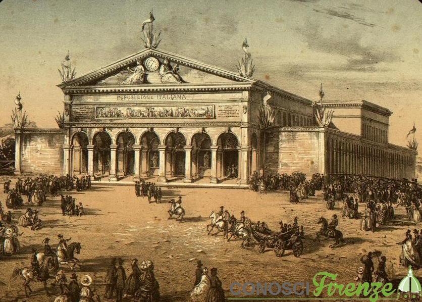 Disegno per  l'esposizione di Firenze nel 1861