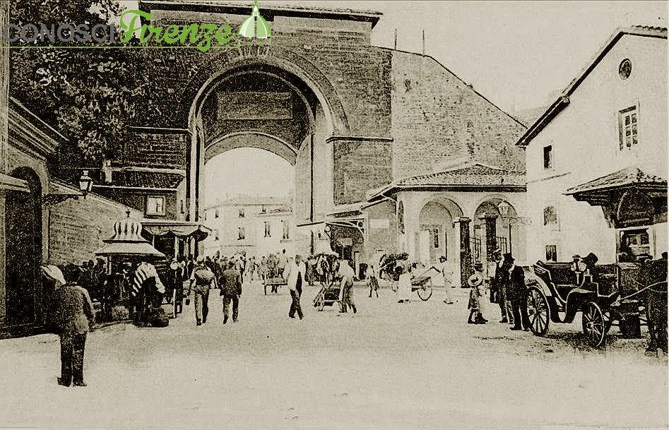 Nel 1904  in Piazza della Calza