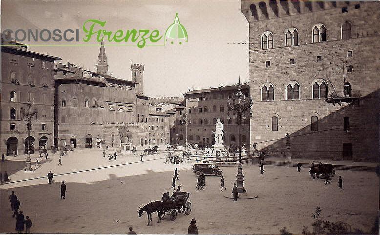 Piazza della Signoria 1900