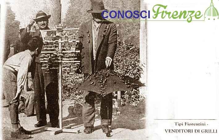 Venditori di Grilli 1902