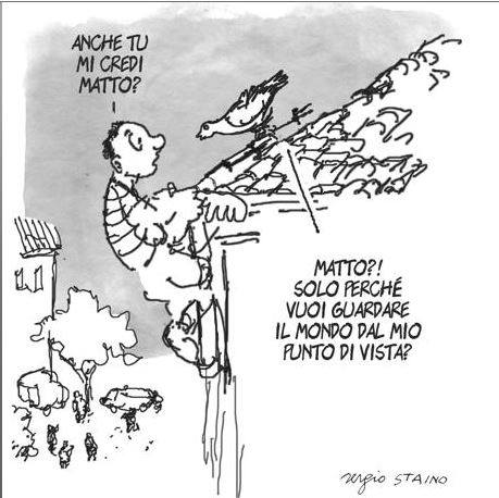 Vignetta di Staino,
