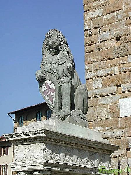 Il Marzocco di Donatello (copia) - Firenze