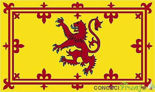 Stendardo di Guglielmo I di Scozia,diventato poi quello della reale casa di Scozia