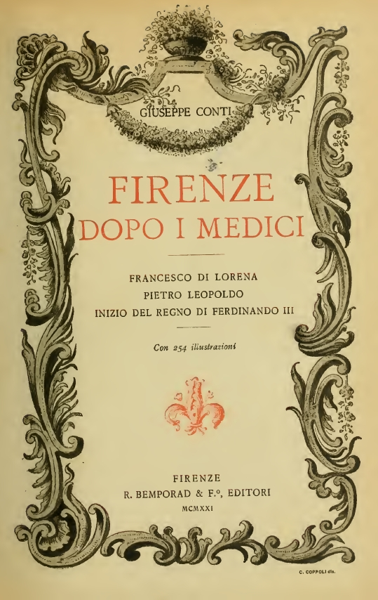 Firenze dopo i Medici, PDF free