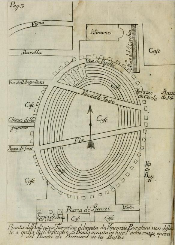 Notizie Istoriche dell'Anfiteatro Fiorentino
