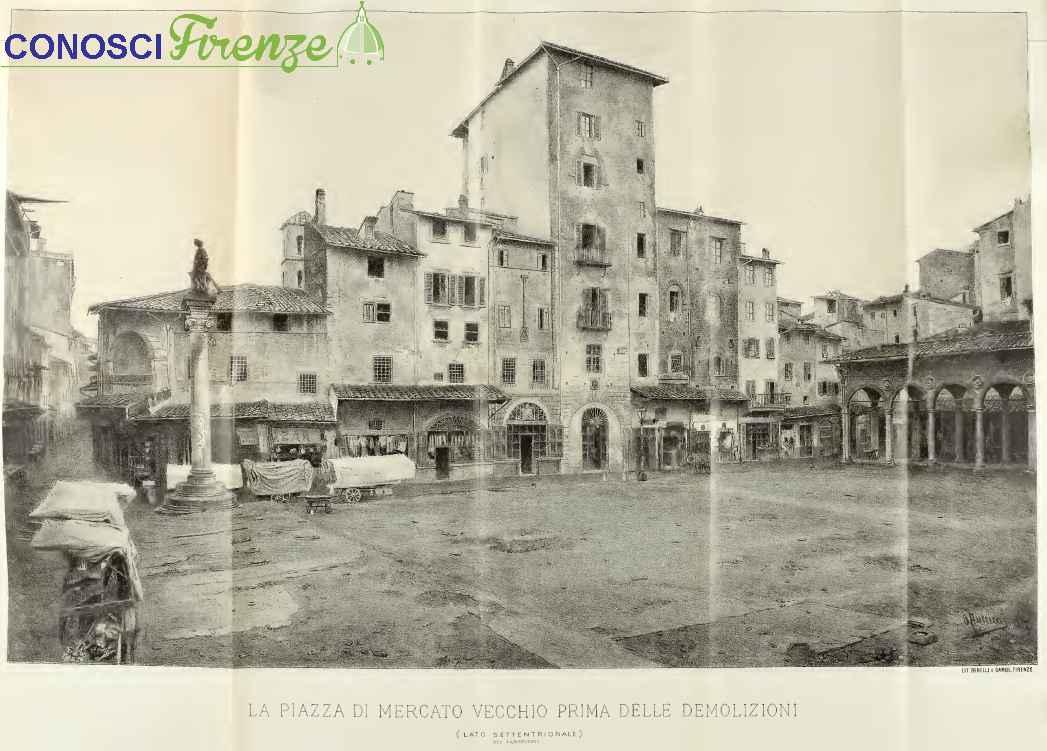 Vecchio Mercato prima del riordino del centro