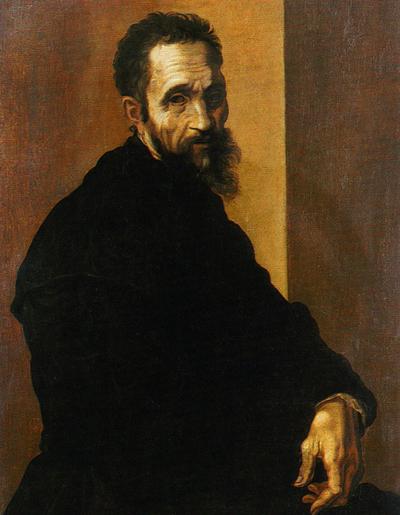 Jacopino del Conte, Ritratto di Michelangelo