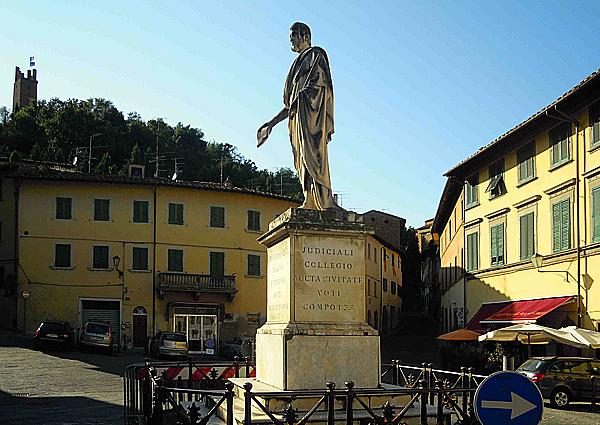 Statua Leopoldo a San Miniato