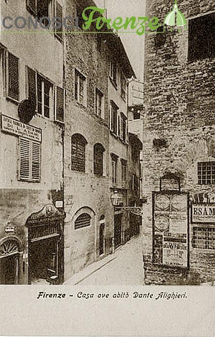 Casa di Dante in via dante
