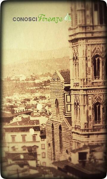 Facciata del Duomo di Firenze nel 1862