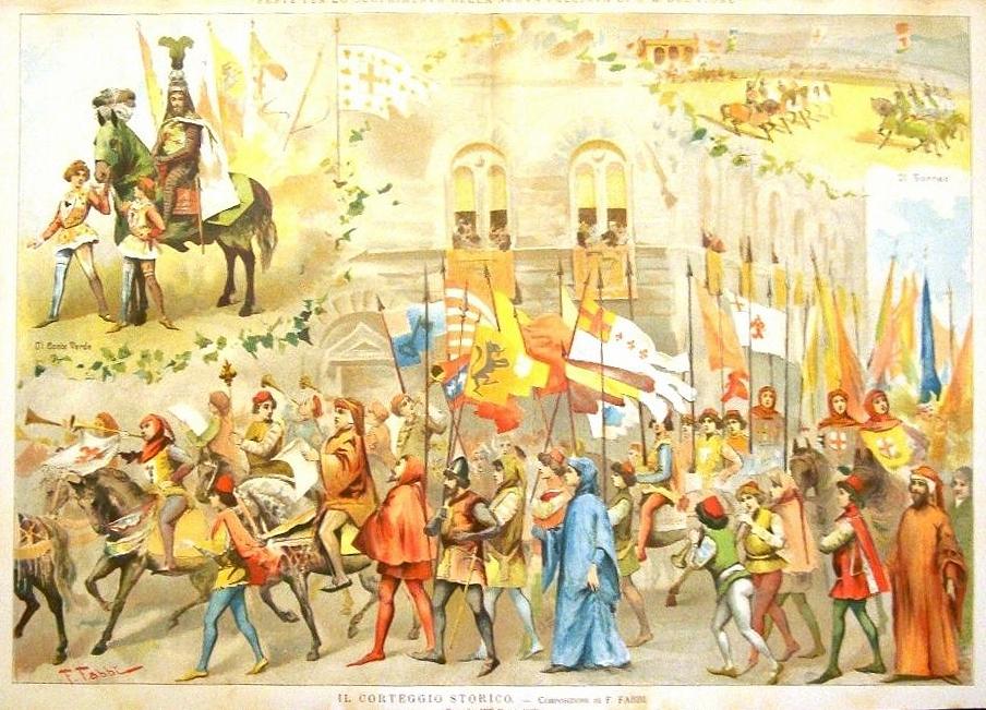 L'arrivo del Conte Verde nel 1887
