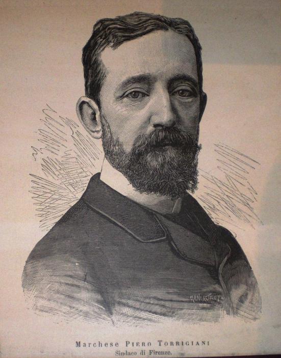 1887 Marchese Piero Torrigiani, Sindaco di Firenze