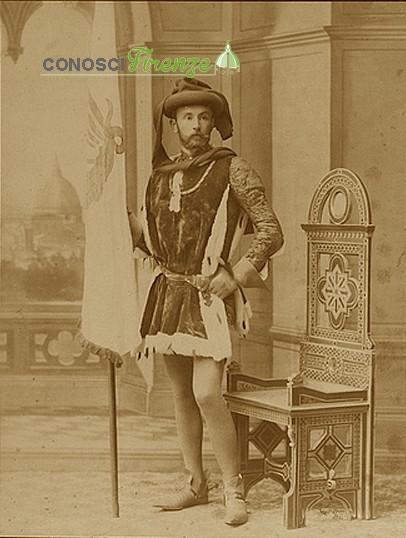 Costume storico del corteggio del 1887