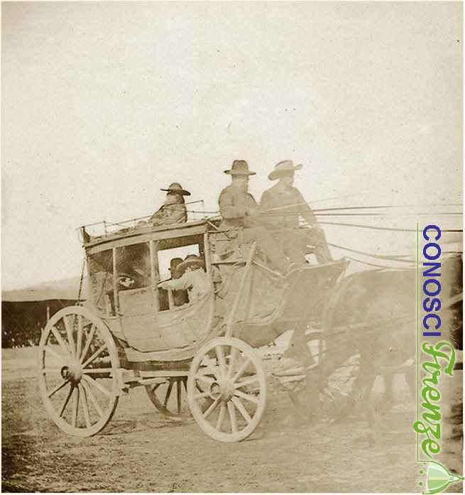 Una scena dello spettacolo western West Wild Show di Buffalo Bill.2