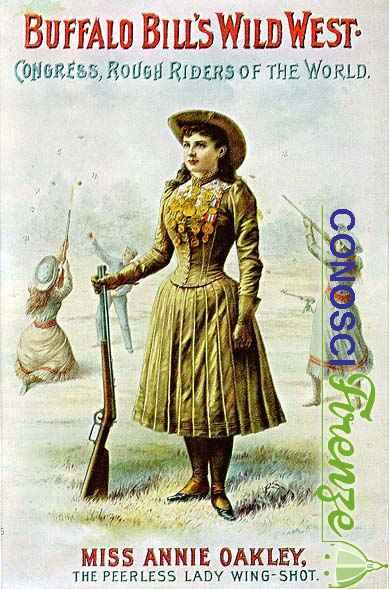 Annie Oakley la grande tiratrice