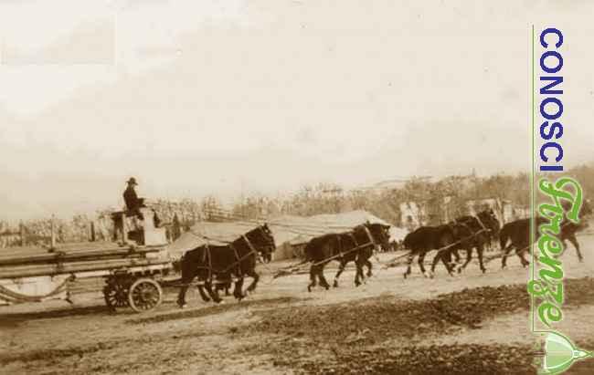 Carro trainato nello spettacolo di Buffalo Bill