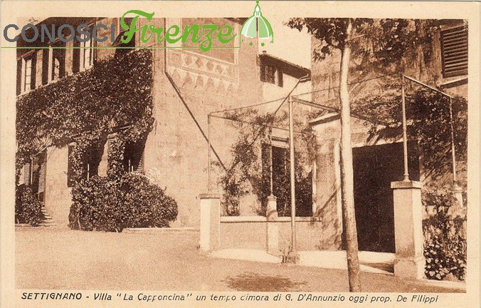 Villa la Capponcina esterno