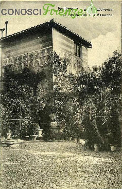 Villa la Capponcina in esterno
