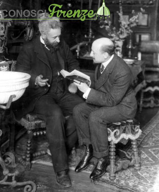 M. Nunes Vais, Gabriele d'Annunzio e Alberto Franchetti alla Capponcina
