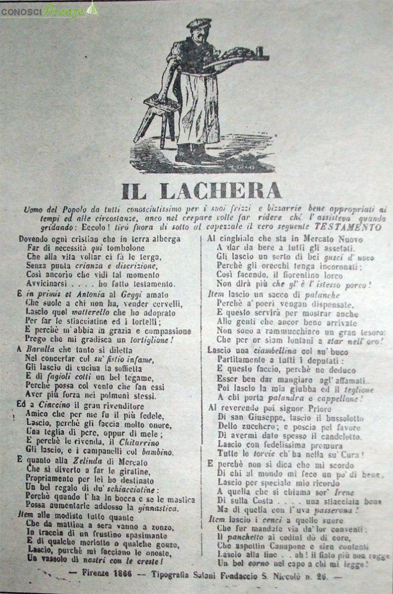 Componimento del Lachera
