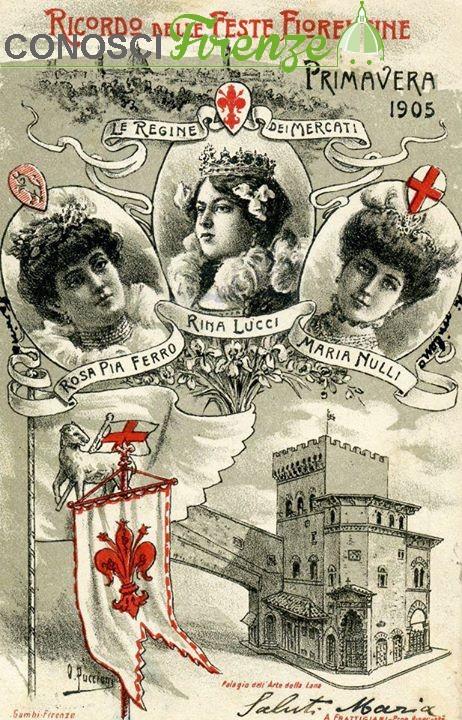 Rina lucci la regina nel 1905 for Rosa dei mobili torino