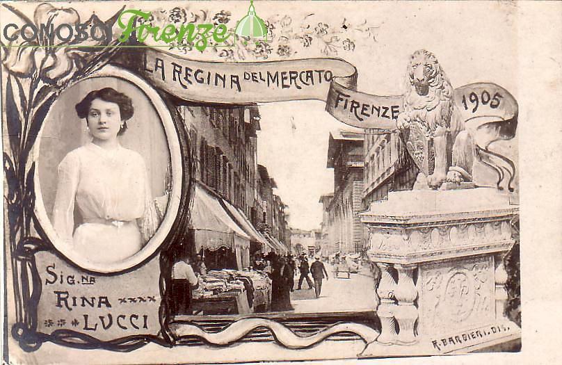 Rina Lucci la Regina nel 1905