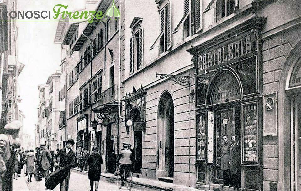 Via Pietrapiana nel 1905