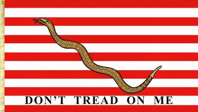 Una delle prime bandiere degli Stati Uniti d'America, 1777
