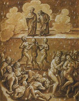 G. Stradano, I tre fiorentini sodomiti (1587)