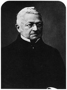 Adolphe Thiers in una fotografia di Nadar.