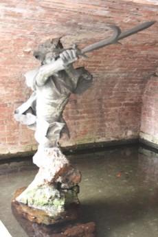 Fontana del Barbicone a Siena nella Contrada del Bruco