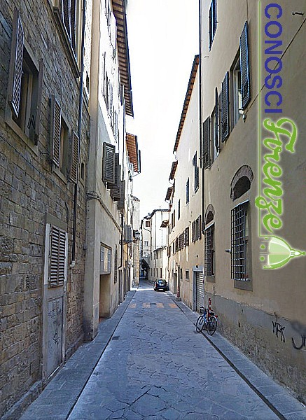 Via delle Brache da Piazza Peruzzi