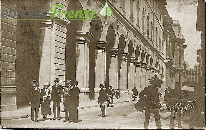 Via Pellicceria anni '30
