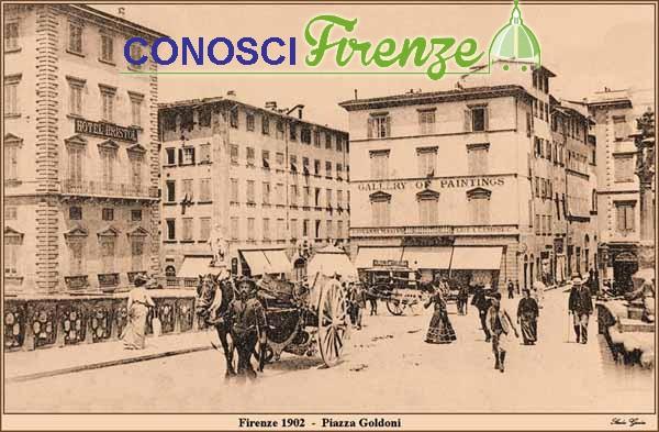Toponomastica: Piazza Goldoni