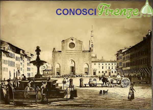 Piazza Santa Croce del Burgi